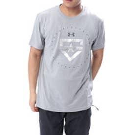 メンズ 野球 半袖 Tシャツ UA TECH HEATER LOGO 1313379