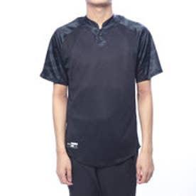 メンズ 野球 半袖Tシャツ UA Stand Collar Baseball Shirt 1331504