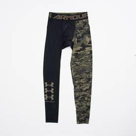 メンズ フィットネス コンプレッションロングタイツ/スパッツ UA HG Armour Legging Novelty 1358835 (ブラック)