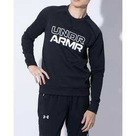 メンズ バスケットボール パーカー UA SWEAT CREW NECK J 1358598 (ブラック)