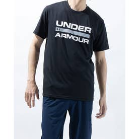 メンズ 半袖機能Tシャツ UA TECH WORD MARK SS 1359134 (ブラック)