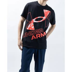 メンズ 半袖機能Tシャツ UA TECH WORD MARK SEASONAL 1364328 (ブラック)