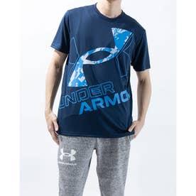 メンズ 半袖機能Tシャツ UA TECH WORD MARK SEASONAL 1364328 (ネイビー)