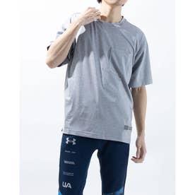 メンズ 半袖Tシャツ UA Over Sized Tee 1366869 (グレー)