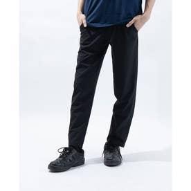 メンズ ライフスタイルロングパンツ UA Woven Pant Taperde 1366871 (ブラック)
