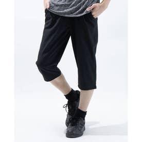 メンズ ライフスタイルロングパンツ UA Woven Cropped Pant 1366875 (ブラック)