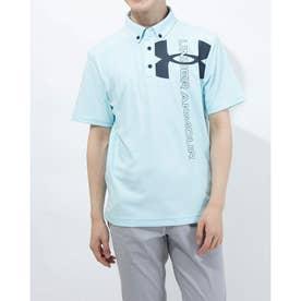 メンズ ゴルフ 半袖シャツ UA Core SS Polo 1364340 (ブルー)