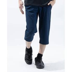 メンズ ライフスタイルロングパンツ UA Woven Cropped Pant 1366875 (ネイビー)