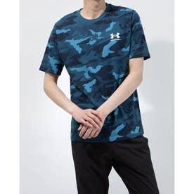 メンズ 半袖Tシャツ UA CC Printed Shirt 1364330 (ブルー)