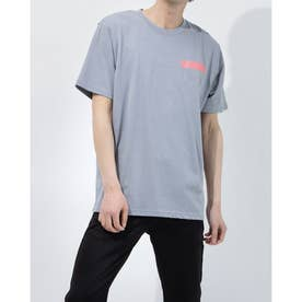 メンズ 半袖Tシャツ UA Heavy weight Charged Cotton Graphic Tee 1365069 (グレー)