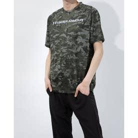 メンズ 半袖機能Tシャツ UA TECH ABC CAMO SS 1361698 (カーキ)