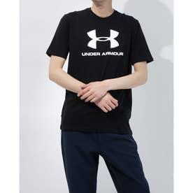 メンズ 半袖Tシャツ UA SPORTSTYLE LOGO SS 1358574 (ブラック)