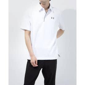 メンズ 半袖ポロシャツ UA Tech Polo 1290140 (ホワイト)