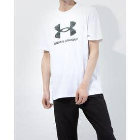 メンズ 半袖Tシャツ UA ABC Camo Big Logo SS 1365199 (ホワイト)