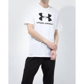 メンズ 半袖Tシャツ UA SPORTSTYLE LOGO SS 1358574 (ホワイト)