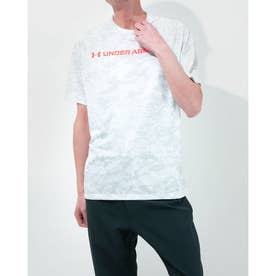 メンズ 半袖機能Tシャツ UA TECH ABC CAMO SS 1361698 (ホワイト)