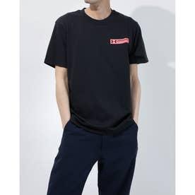 メンズ 半袖Tシャツ UA Heavy weight Charged Cotton Graphic Tee 1365069 (ブラック)