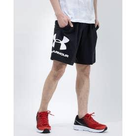 メンズ スウェットハーフパンツ UA Sportstyle Cotton Shorts 1329300 (ブラック)
