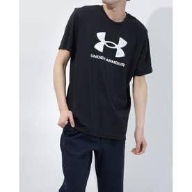 メンズ 半袖Tシャツ UA ABC Camo Big Logo SS 1365199 (ブラック)