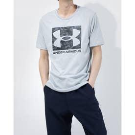 メンズ 半袖Tシャツ UA ABC CAMO BOXED LOGO SS 1361673 (グレー)