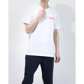 メンズ 半袖Tシャツ UA Heavy weight Charged Cotton Graphic Tee 1365069 (ホワイト)