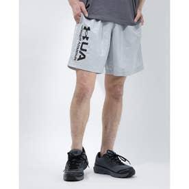 メンズ ウインドハーフパンツ UA Woven Emboss Shorts 1361432 (グレー)