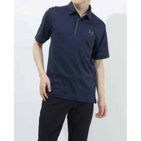 メンズ 半袖ポロシャツ UA Tech Polo 1290140 (ネイビー)
