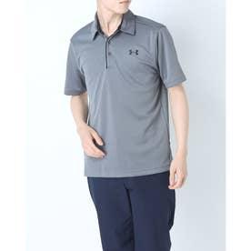 メンズ 半袖ポロシャツ UA Tech Polo 1290140 (グレー)