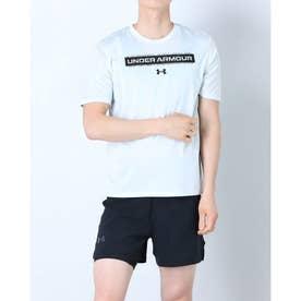 メンズ 半袖機能Tシャツ UA Training Vent Grphic 1 SS 1365216 (ホワイト)