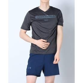 メンズ 半袖機能Tシャツ UA Training Vent Grphic 1 SS 1365216 (ブラック)