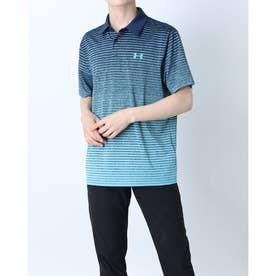 メンズ ゴルフ 半袖シャツ UA Playoff Polo 2.0 1327037 (ネイビー)