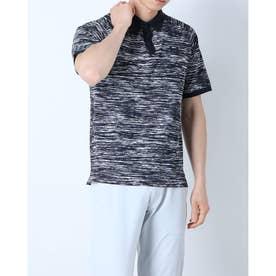 メンズ ゴルフ 半袖シャツ UA Iso-Chill ABE Twist Polo 1361805 (グレー)