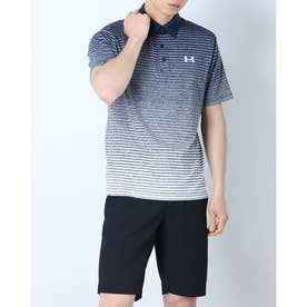 メンズ ゴルフ 半袖シャツ UA Playoff Polo 2.0 1327037 (グレー)