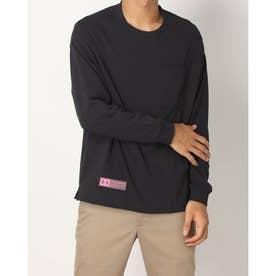 メンズ 長袖Tシャツ UA Rival Fleece ALPEN 50th FB 1369573 (ブラック)