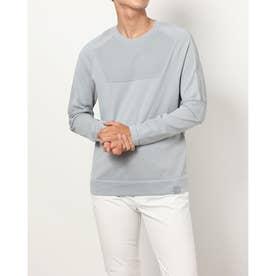 メンズ ゴルフ 長袖セーター UA IntelliKnit Sweater Crew 1369333 (グレー)