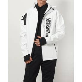 メンズ ウインドジャケット UA WINTER KNIT JACKET 1368942 (ホワイト)