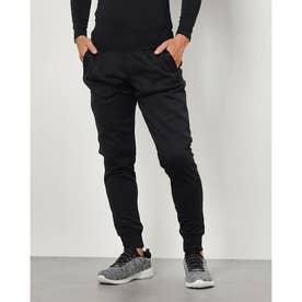 メンズ スウェットロングパンツ UA Armour Fleece Joggers 1357123 (ブラック)