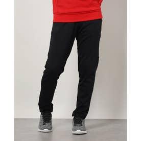 メンズ スウェットロングパンツ UA Armour Fleece Pants 1357121 (ブラック)