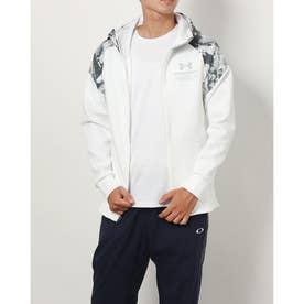 メンズ ニットジャケット UA KNIT JACKET 1368939 (ホワイト)