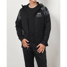 メンズ ニットジャケット UA KNIT JACKET 1368939 (ブラック)