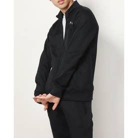 メンズ ゴルフ 長袖トレーナー UA Stretch Knit Full Zip Jacket 1369335 (ブラック)