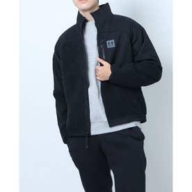 メンズ フリースジャケット UA RUSH FLEECE HOODIE 1366091 (ブラック)