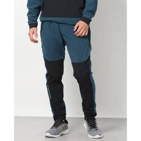 メンズ スウェットロングパンツ UA Rush Fleece Pant 1366179 (ブルー)