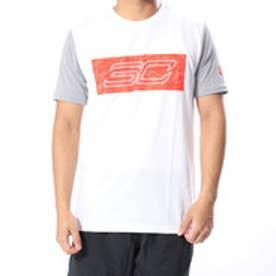 バスケットボール 半袖Tシャツ UA SC30 Logo SS Tee 1317938