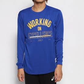 バスケットボール 長袖Tシャツ UA SC30 TECH STACK LOGO LS 1346806