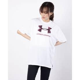 レディース 半袖機能Tシャツ UA Tech Animal Logo Tee 1366865 (ホワイト)
