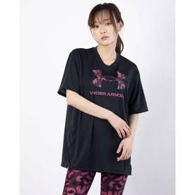 レディース 半袖機能Tシャツ UA Tech Animal Logo Tee 1366865 (ブラック)