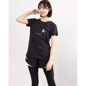 レディース 半袖Tシャツ UA Live Sportstyle Graphic SSC 1356305 (ブラック)