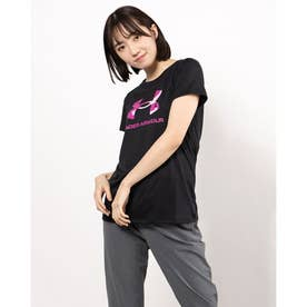 レディース 半袖機能Tシャツ UA Tech Big Logo Tee 1364211 (ブラック)