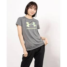 レディース 半袖機能Tシャツ UA Tech Big Logo Tee 1364211 (グレー)